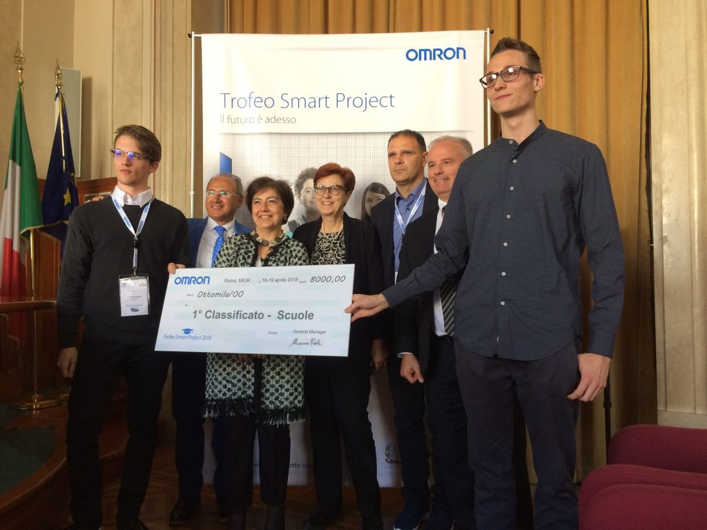 Omron Trofeo Smart Project 2018