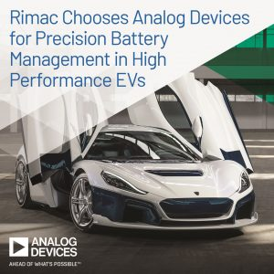 Rimac sceglie il battery management system di Analog Devices