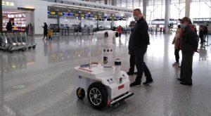 Robot di pattuglia 5G contro il Covid-19
