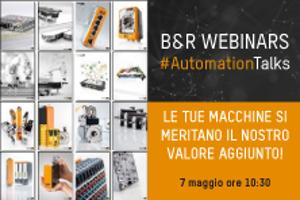 Save the date: al via i Webinar Automation Talks di B&R